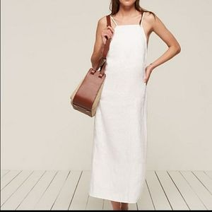 Reformation Lily Linen Maxi dress